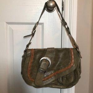 Christian Dior Coin Gaucho saddle shoulder bag